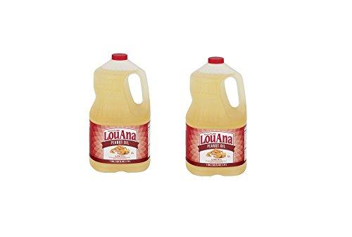 Peanut Louana (LouAna Peanut Oil, 128.0 FL OZ (Pack of 2))