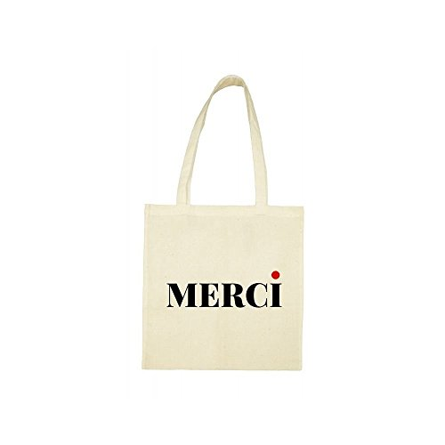 beige Tote bag Tote merci beige merci bag Fz7anzqW