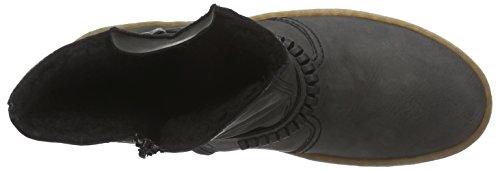 Rieker - botines de caño bajo de material sintético mujer gris - Grau (fumo / 45)