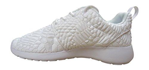 Nike Womens Roshe One Dmb Qs Laufen Trainers 824.286 Turnschuhe, WHITE/WHITE-WHITE-BLACK, 38.5 EU