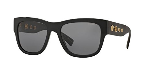 Versace Womens Sunglasses (VE4319) Black/Grey Acetate - Polarized - - Women Versace Shades