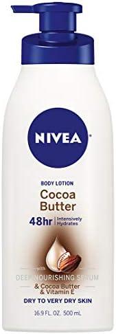 لوشن الجسم بزبدة الكاكاو من نيفيا ترطيب لمدة 48 ساعة للبشرة الجافة جد ا 500 مل Amazon Ae