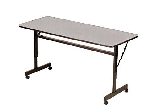 - Correll FT2448M-15 EconoLine Flip Top Table, 24