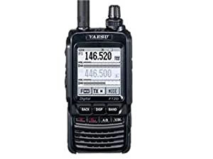 6. Yaesu FT2DR C4FM 144/430 MHz Dual Band Digital Handheld Transceiver with 1.7