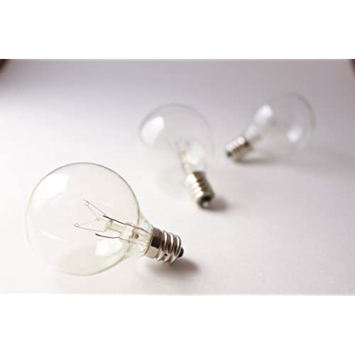 Replacement Bulbs For String Lights Enchanting Brillante Replacement Bulbs For G60 Globe String Lights E60 Socket