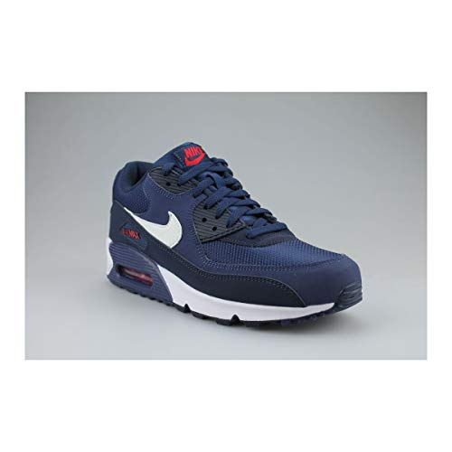 white Multicolore midnight Max 90 Red Da 403 Air Navy Scarpe Ginnastica Nike Uomo Essential university zPq8g5wg