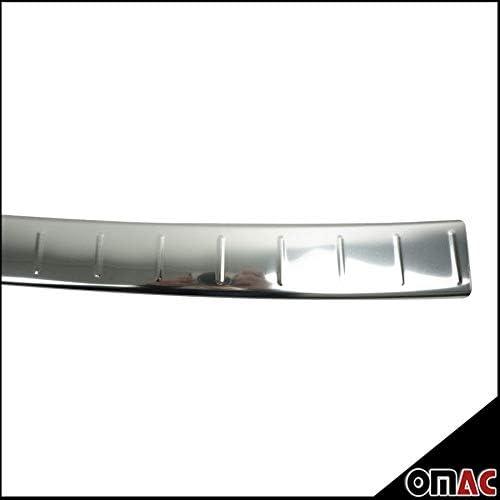 Protezione paraurti in acciaio inox cromato con smussatura.