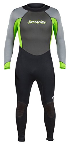 Hyperflex Wetsuits Men's Access 3/2mm Full Suit - (Green, Large)