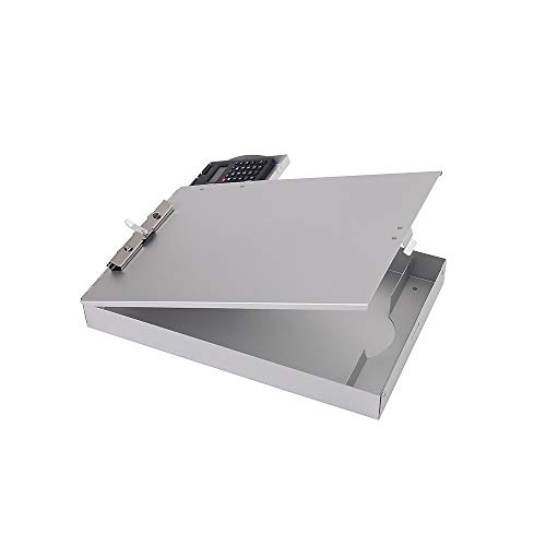 Staples 1671314 Aluminum Document Case with Calculator Letter Size Silver 9