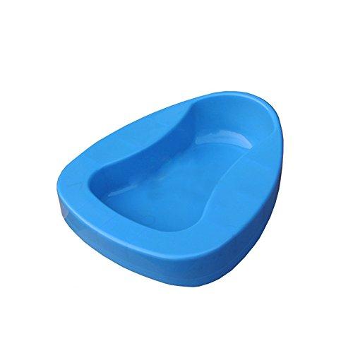 - genmine Bedpans Bathroom Bed Pans Smooth Contour Shape Heavy Duty Personal Care Elderly, Men & Women