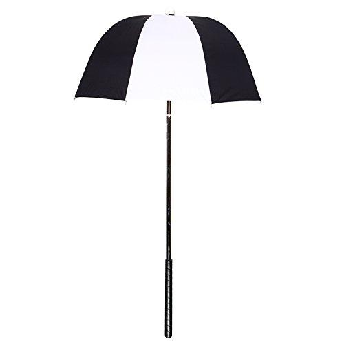 black-white-golf-cart-umbrella-caddy-cover