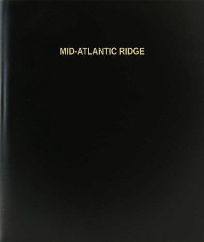 BookFactory Mid-atlantic Ridge Log Book / Journal / Logbook - 120 Page, 8.5