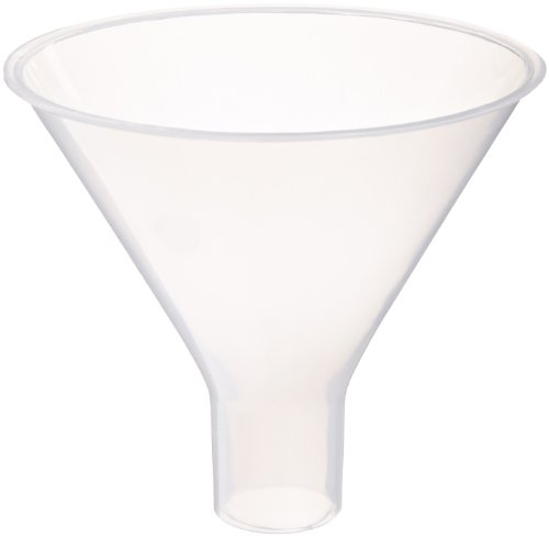 - United Scientific FPP100 Polyethylene Powder Funnel, 150mL Capacity, Pack of Six