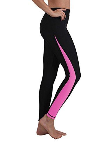 Woman Lighting - GEEK LIGHTING Womens Wetsuit Pants UV Protective Surfing Board Diving Canoe Pants Magenta Large