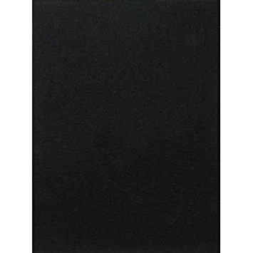 (Bulk Buy: Darice DIY Crafts Sticky Back Stiff Felt Sheet Black 9 x 12 inches (5-Pack) FLT-0432)