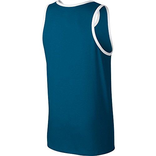 Nike M Nsw Tank Ace Logo Camiseta, Hombre azul (industrial blue/white/still blue)