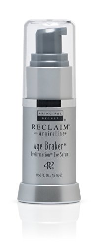 Principal Secret – Reclaim with Argireline – Age Braker EyeFirmation Eye Serum – Aloe & Shea Butter Infused – 90 Day Supply/0.5 Ounce by Principal Secret