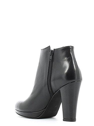 GRACE SHOES, Damen Stiefel & Stiefeletten , Schwarz - schwarz - Größe: