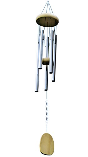 Unique Inspiring 'Amazing Grace' Tuned Wind Chime Sun Catcher. Includes Premium Chimes with US Hand-Applied Glass Prisms that Catch & Reflect Magical Rays of Light
