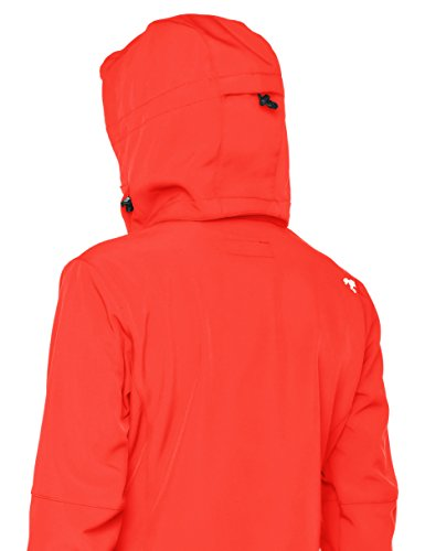 Jacket Sports Softshell Womens Women's Hkm Sport red Softshelljacke Damen qt7Hv7xaw