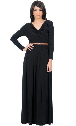 black maternity day dress - 3