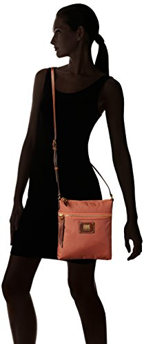 Zip Handbag Rose Dusty FRYE Nylon Crossbody Ivy 0qxwPFTR