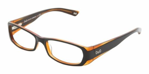 D&g Dd1172 Eyeglasses 990 Balck On Havana Demo Lens 51 16 135 (And Gabbana Dolce The One L)