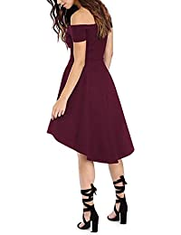 Amazon.com: Off the Shoulder - Dresses / Clothing: Clothing, Shoes & Jewelry