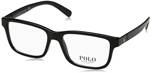 Polo Men's PH2176 Eyeglasses Shiny Black ()