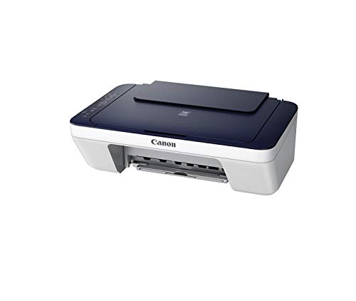 Canon Pixma E477 All-in-One Wireless Ink Efficient Colour Printer (White/Blue)