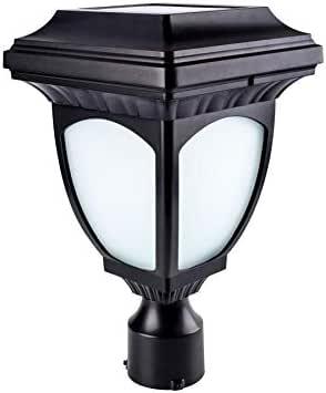allen + roth Solar Post Lamp - - Amazon.com