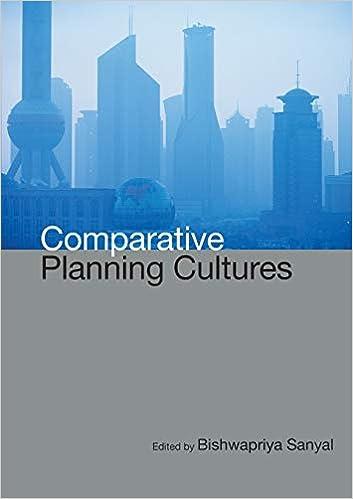Comparative Planning Cultures: Bishwapriya Sanyal ... on