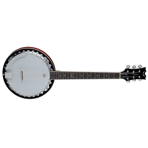 Dean Banjo - Dean Backwoods 6 Banjo - Natural