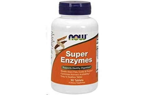 Super Enzymes 90 Tablets