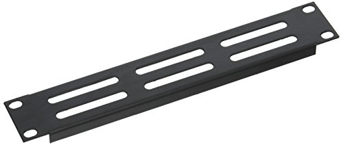 Half Equipment Panel (Gator Cases GRW-HALFRKPNLVNT1 Half Rack Standard Width 1U Vented Panel)