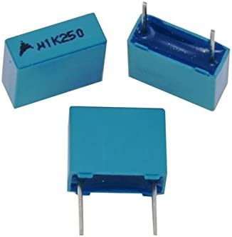 20x MKT Condensador De L/ámina Radial 0,1/µF 250V DC Epcos B32520C3104K000 100nF