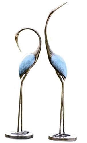 SPI Home 33336 Stylized Garden Crane Pair Sculpture