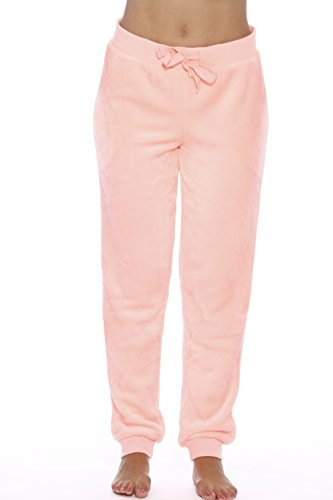 Online Shopping At Low Price (Just Love 6317-Neon Coral-S Velour Pajama Pants/Joggers for)