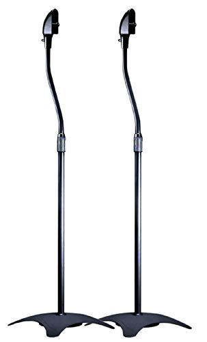 Monoprice Satellite Speaker Floor Stand (Set of 2)
