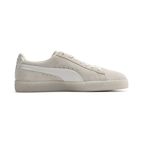 Puma Baskets M Chuchoter Blanc Wn Daim Satin Classique Or Damen FFzrwdqv