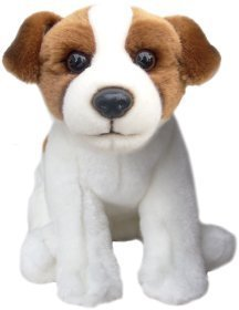 Faithful Friends Jack Russell Terrier Stuffed Animal 12