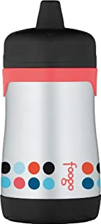 Thermos Foogo Vacuum Insulated Stainless Steel 10-Ounce Hard Spout Sippy Cup, Poppy Patch Pattern (B00849L3TG) | Amazon price tracker / tracking, Amazon price history charts, Amazon price watches, Amazon price drop alerts