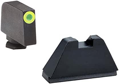 AmeriGlo Sup 3 Dot Trite For Glock, Green/Black