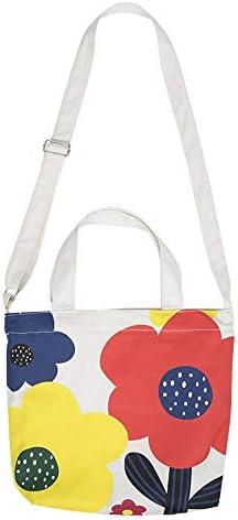 調節可能なショルダーストラップクロスボディバッグ キャンバスバッグ ショルダー バッグ文芸トートバッグ通学バッグ