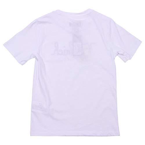 Woolrich shirt Jersey Di Boy Wktee1223892 Cotone Bianca In T Mod raqrwExgZ