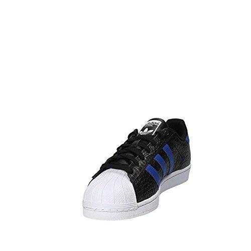 Uomo Basse Azufue Ginnastica adidas da Negbas Azufue Nero Superstar Scarpe q4TXI