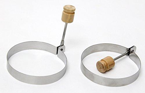Egg Poacher Rings Stainless Steel product image