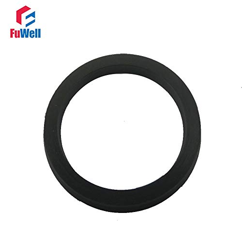 Ochoos Y2 Type Cylinder Liner O-Ring Seal 4x8x2.55 Black NBR Pneumatic Ring Cylinder Gasket Rod Seal 105x125x8.25 Piston Seal Ring - (Size: Y2 19x25x3.25, Color: 5pcs)