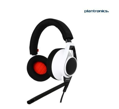 Plantronics Stereo Mobile Headset - Plantronics RIG Flex Gaming Headset Two Mic Options, For Mobile Devices and PC, Mac, Xbox One & PlayStation 4, White
