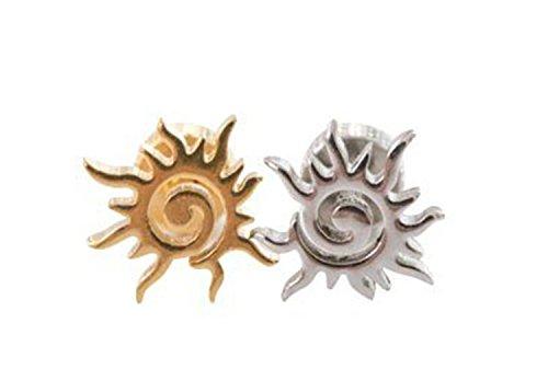 16g 16-gauge Fashion Body Jewelry Beautiful Cute Cool Cartilage Tragus Fire Phoenix Orange Sun Design Shaped Flower Ear Studs Earring Piercing For Women Teens Girls - Scott Sale Summers Sunglasses For